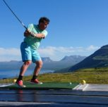 Golf i Björkliden