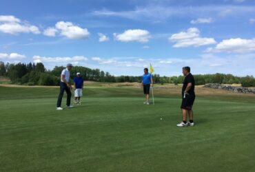 En dag på Sundsta Golf med Björklidens GK