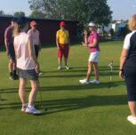 Seniorträningen startar igen på Bromma golf